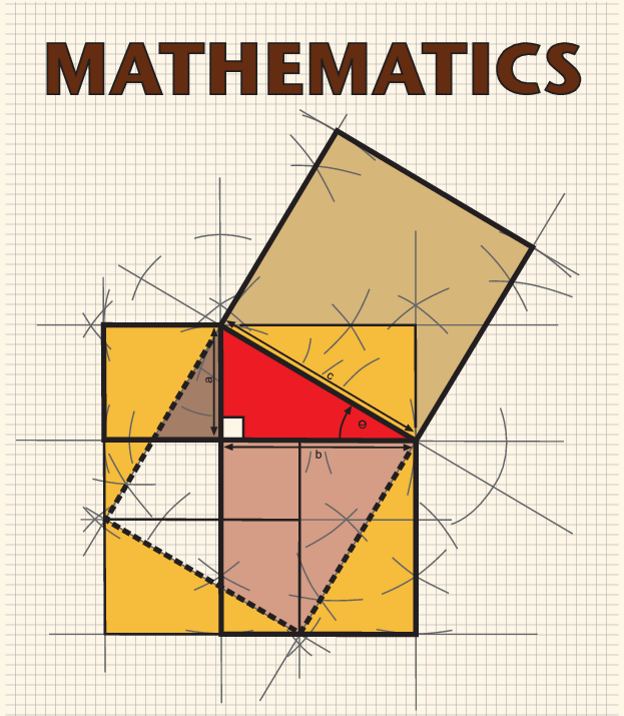 maths cover page design