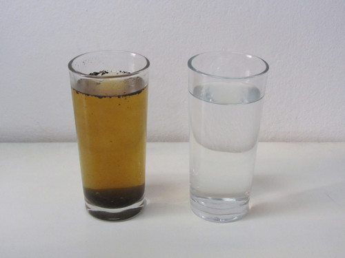 how to separate clean water from muddy water