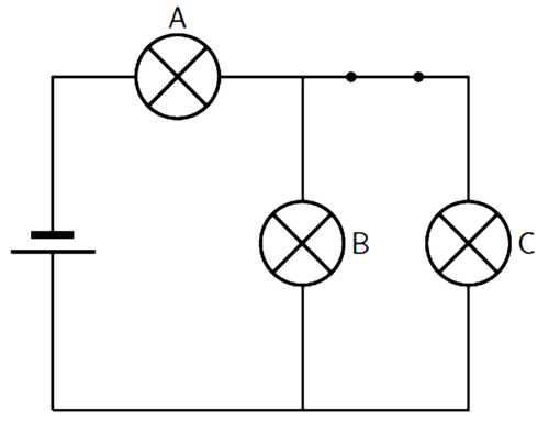 series and parallel circuits diagrams