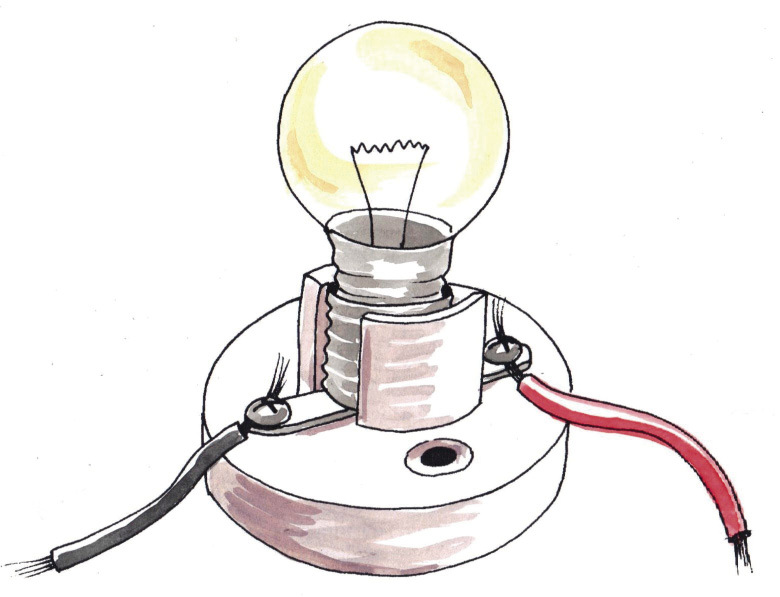 Light Bulb. Tech2_gr7_ch3_p30_Table_figD1.tif