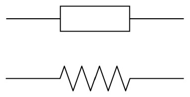Iec Symbol For A Resistor on electrical schematic symbol potentiometer